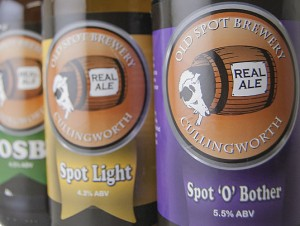 Digital printing of beer labels