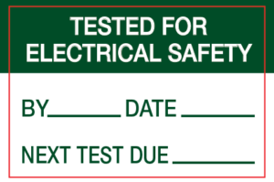 tested for electrical safety