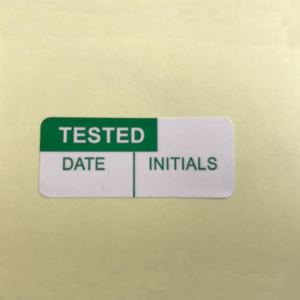 tested date